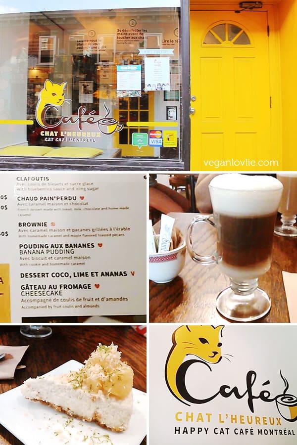Café Chat l'Heureux — Happy Cat Café Montréal