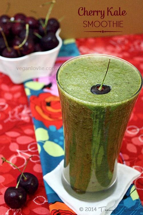 Cherry Kale Smoothie