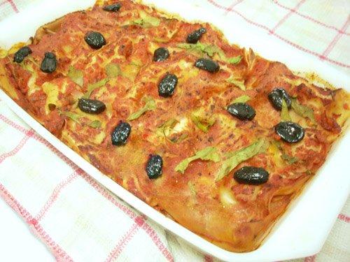 vegan vegetarian lasagna