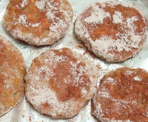 Breadfruit Tandoori Burger Patties