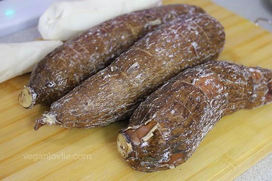 Cassava & Tapioca Pearl in Coconut Milk, manioc et sagou au lait de coco