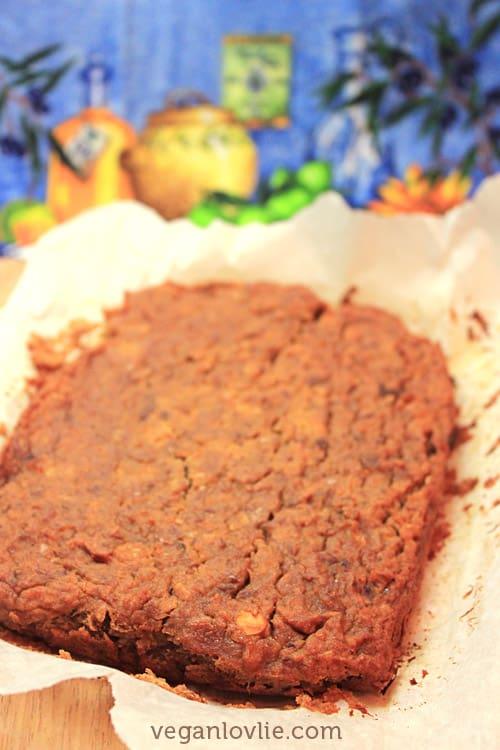Vegan Chocolate Protein Bar Recipe