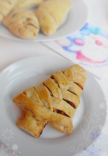 christmas ratatouille pie, holiday recipe