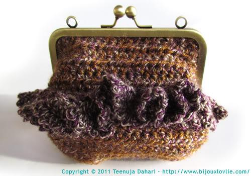 Crochet bag/purse/clutch