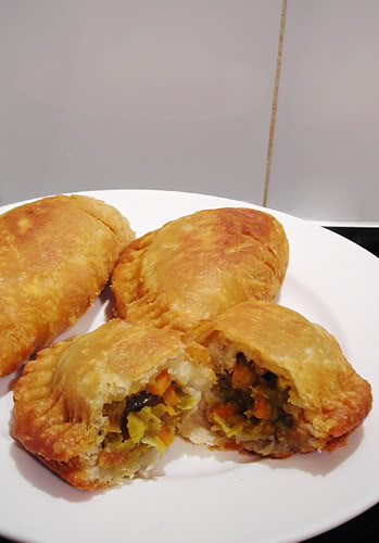 vegan curry pie