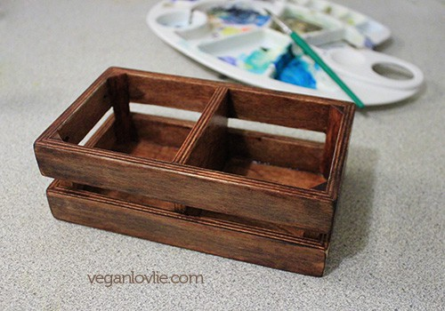 how to build a wooden box