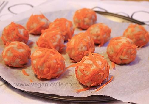 Potato Fava Bean Balls