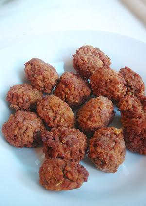 meatless balls, vegan meat balls