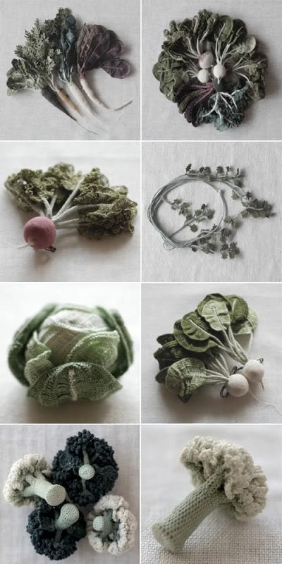 Jungjung crochet vegetables