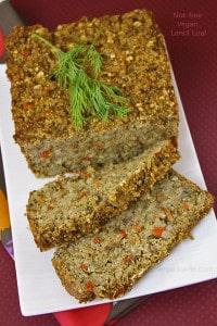 Nut-free Vegan Lentil Loaf