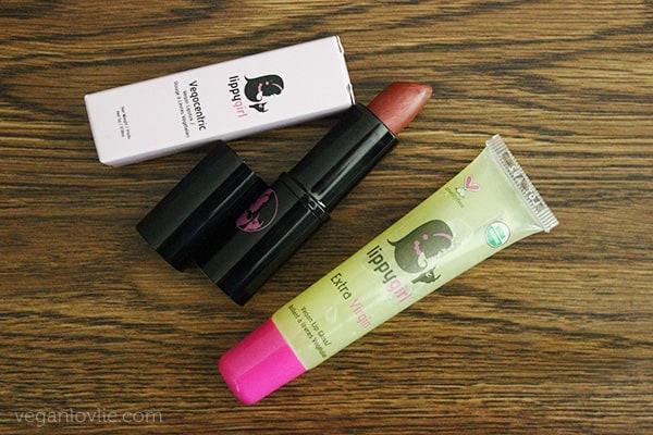 Lippy Girl Makeup Review, vegan makeup brands