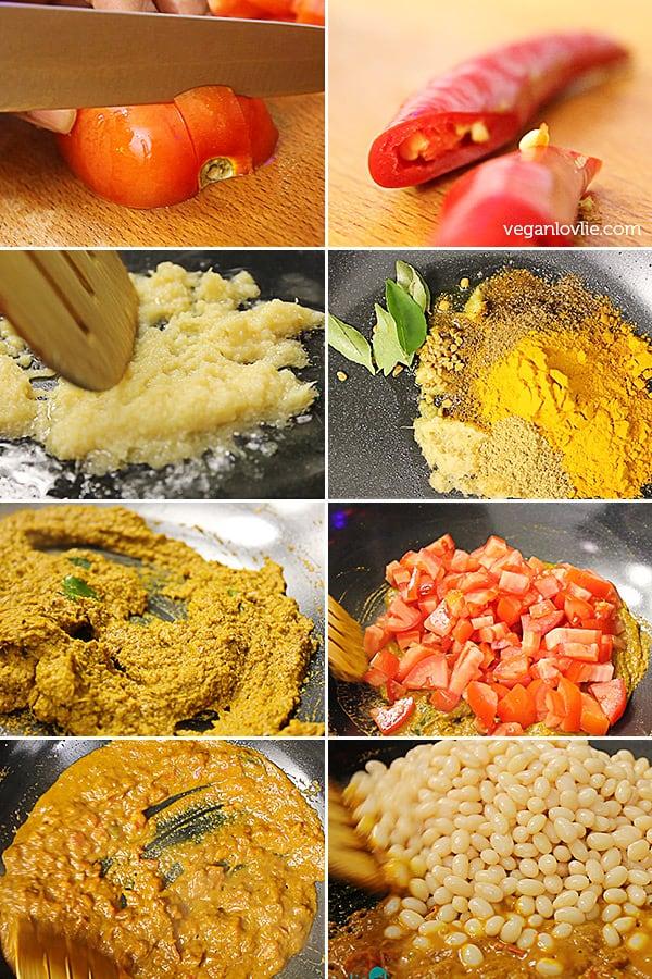 how to make roti with white flour