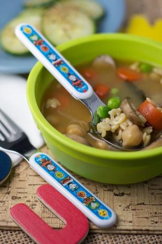 Miso alphabet soup