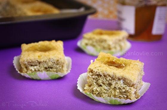 Oat Pulp Thumbprint Cookies, vegan oat cookie recipe