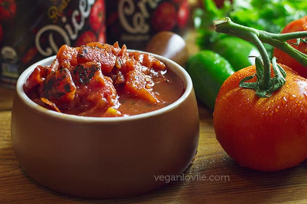 Ocean Plantain a la Mexicana with fire roasted tomatoes, Plantain recipes, Muir Glen tomato review