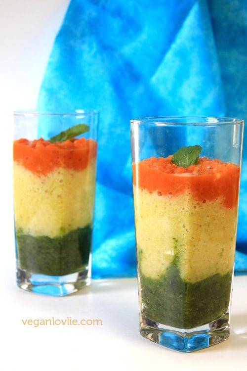 Romaine lettuce smoothie