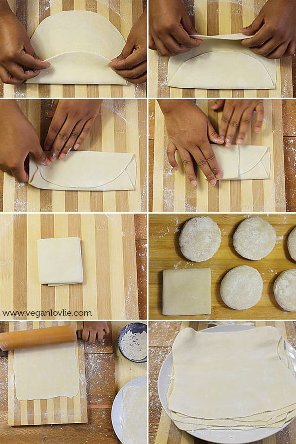Roti (Farata/Paratha) Recipe and Fillings - Mauritian
