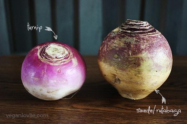 Rutabaga/Swede vs Turnip
