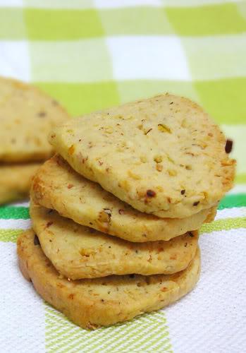 savoury chickpea cookies
