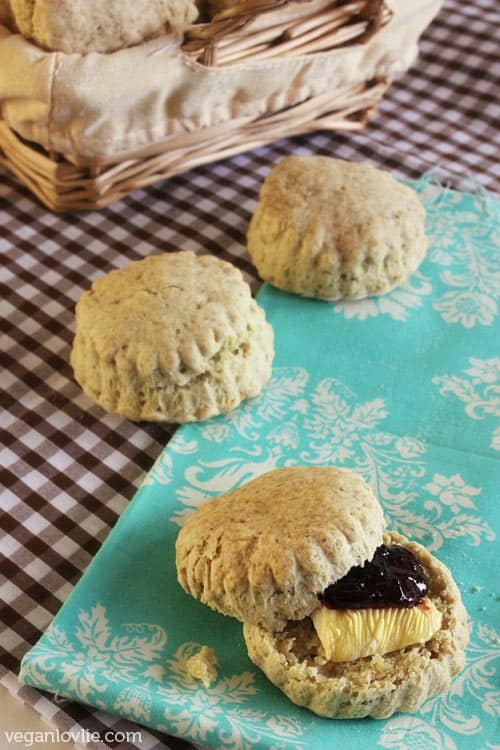 vegan scone recipe