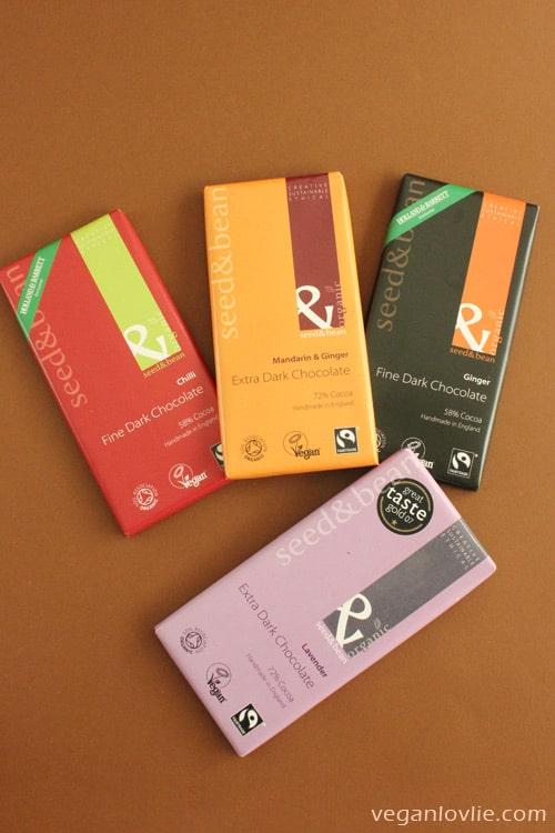 Vegan Chocolate, Seed and Bean