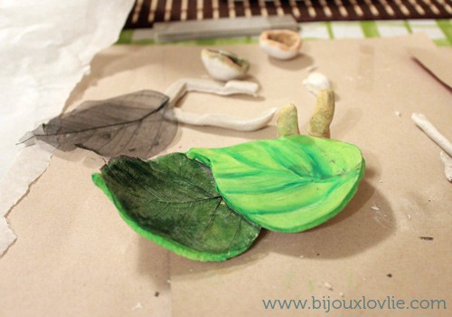 Mushroom and Leaf Soap Dish