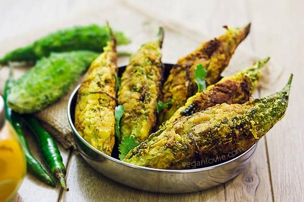 Stuffed Karela Recipe Marathi