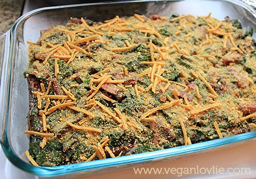Vegan Swiss Chard Gratin Recipe