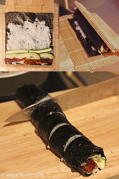 tempeh sushi