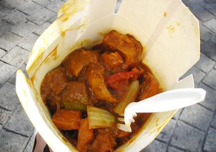 tofu curry, tofu