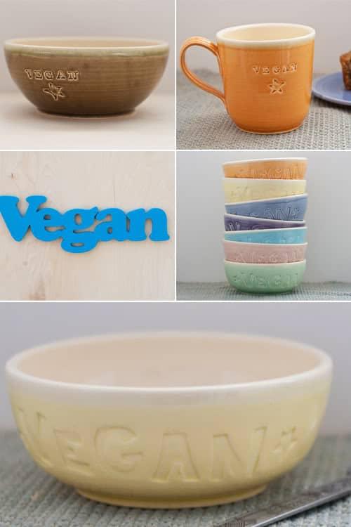 Vegan dish on Etsy