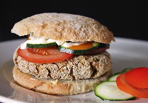 Veggie Okara Burger