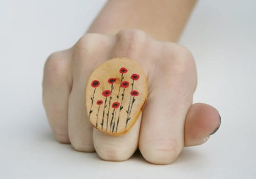 wood ring, wabi-sabi
