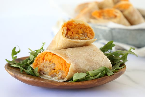 Sweet Potato Burrito - Triad to Wellness
