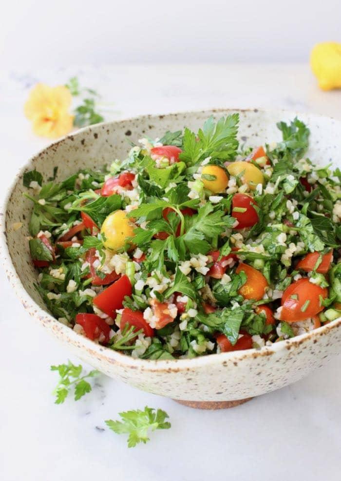 Bulgur Wheat Salad - Veggie Society