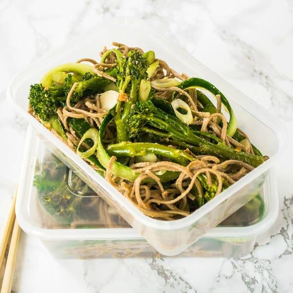 Soba Noodle Salad - Veg Space