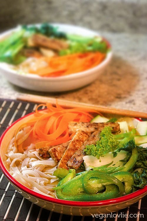 30-minute Vegan Ramen #MeatlessMonday