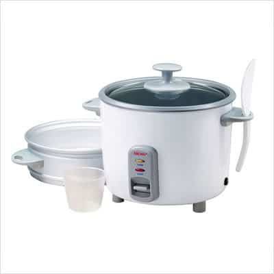 Aroma Pot Style 7-Cup Dry Rice Cooker and Steamer,steamer,rice cooker,ARC-737G