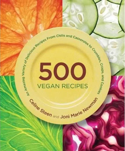 500 vegan recipes