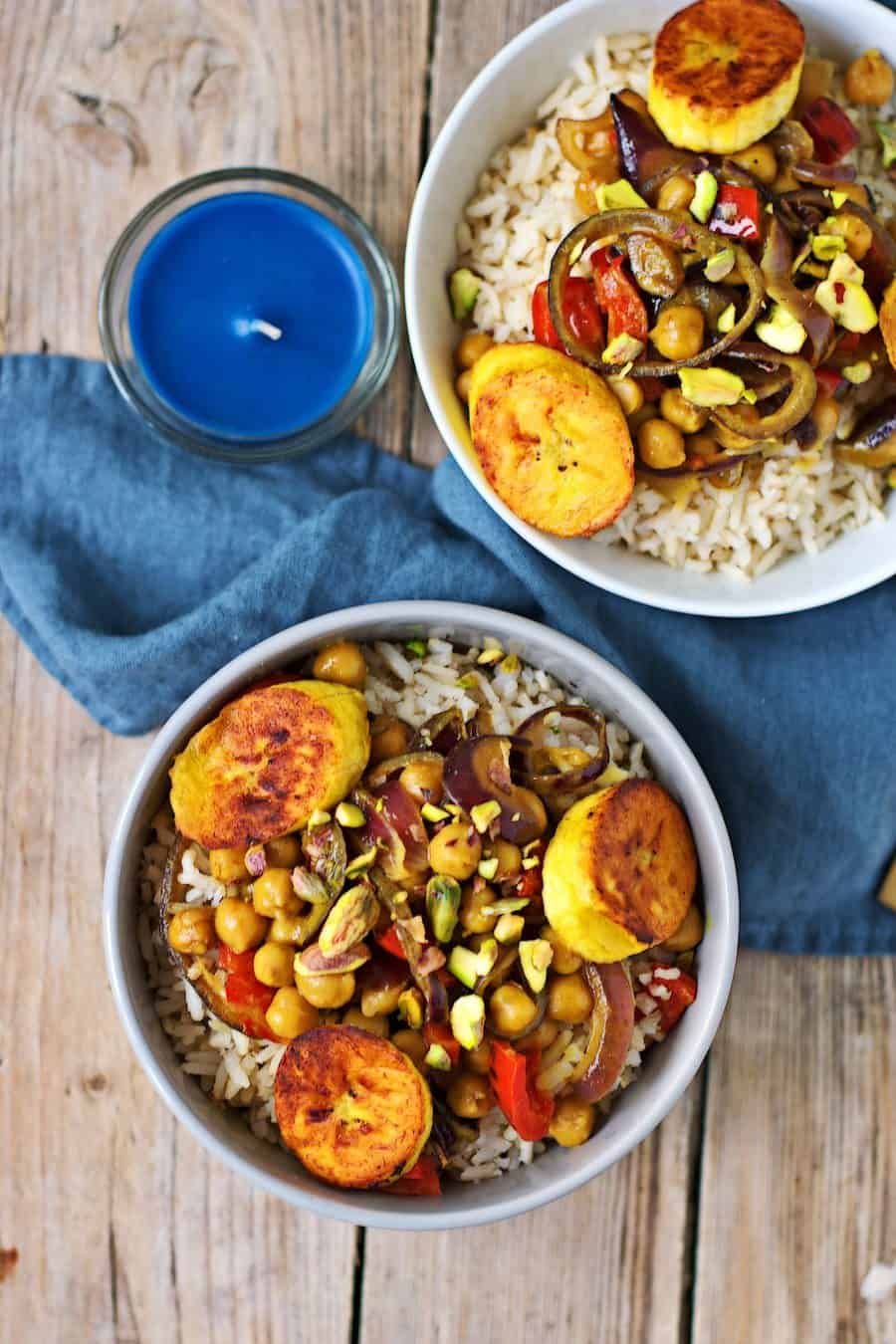 Vegetable Curry with Plantains from Contentedness Cooking