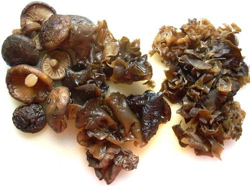 Bok Choy and Mushroom Stir Fry