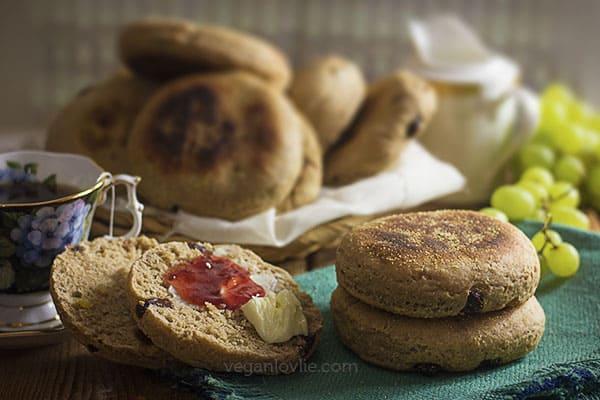 Homemade English Muffin Recipe Cinnamon Raisin