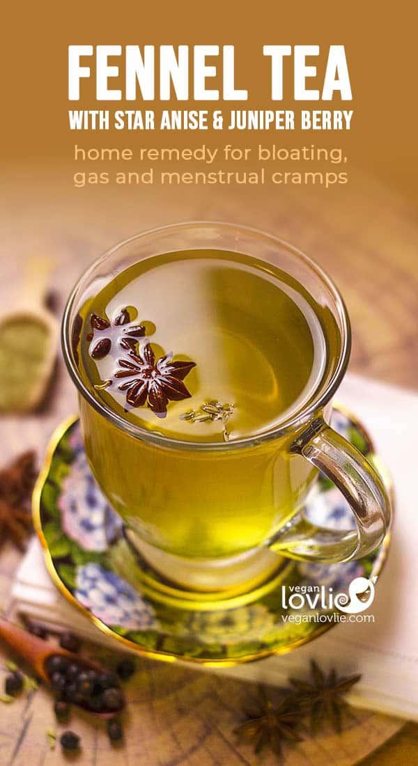 Juniper berry, Star Anise & Fennel Tea