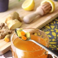 Turmeric Ginger Lemon Tea Recipe - Turmeric Root Tea