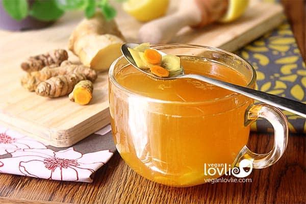 Turmeric Ginger Lemon Tea Recipe + Inspiration/Quotes/Reflection on Freedom