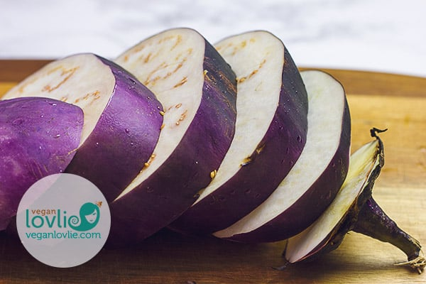 Barbarella eggplant / aubergine steaks