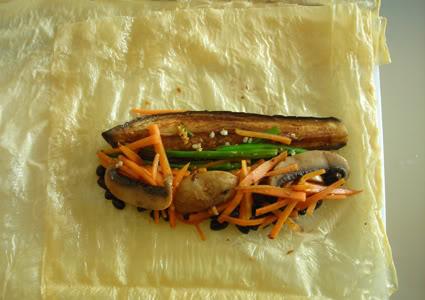 aubergine beancurd
