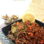 vegetable brown rice biryani spiced rice