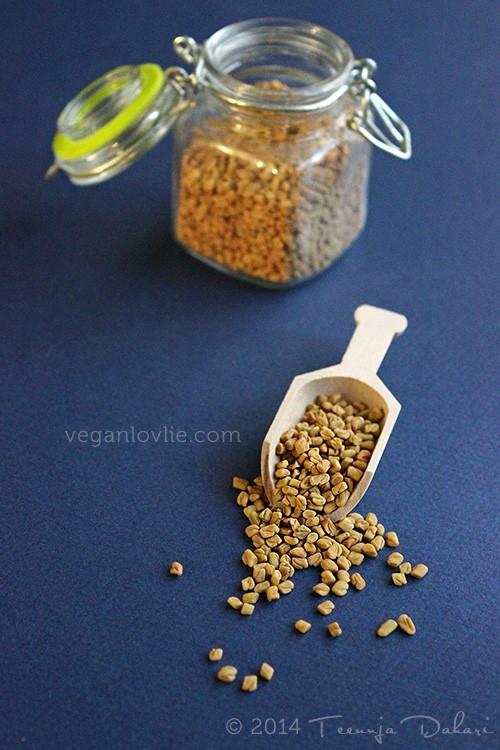 Brown Chickpea Snack, Mauritian Recipe