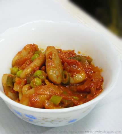 butter beans in tomato sauce